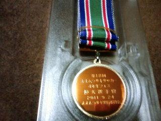 記念メダルサッカー画像